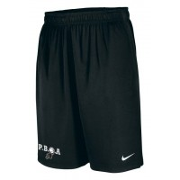 PBOA 11: Nike Team Fly Athletic Shorts - Black with PBOA logo