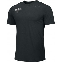 PBOA 09: Nike Team Legend Short-Sleeve Crew T-Shirt - Black with PBOA logo