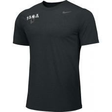 PBOA 09: Nike Team Legend Short-Sleeve Crew T-Shirt - Black with PBOA logo